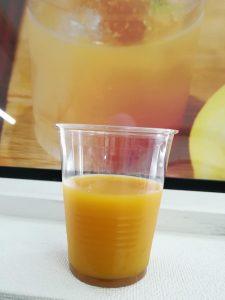 ジンジャーシロップ オレンジジュース割り